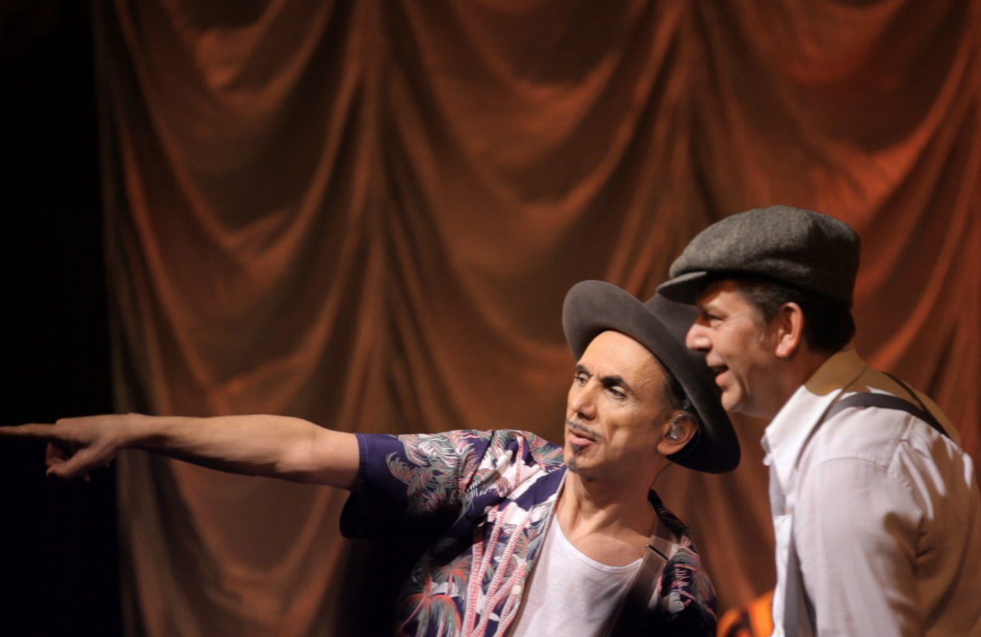 Dexys' Kevin Rowland and Pete Williams